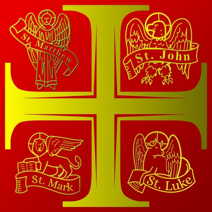 THE ORIGINS OF THE SYMBOLS OF THE FOUR EVANGELISTS