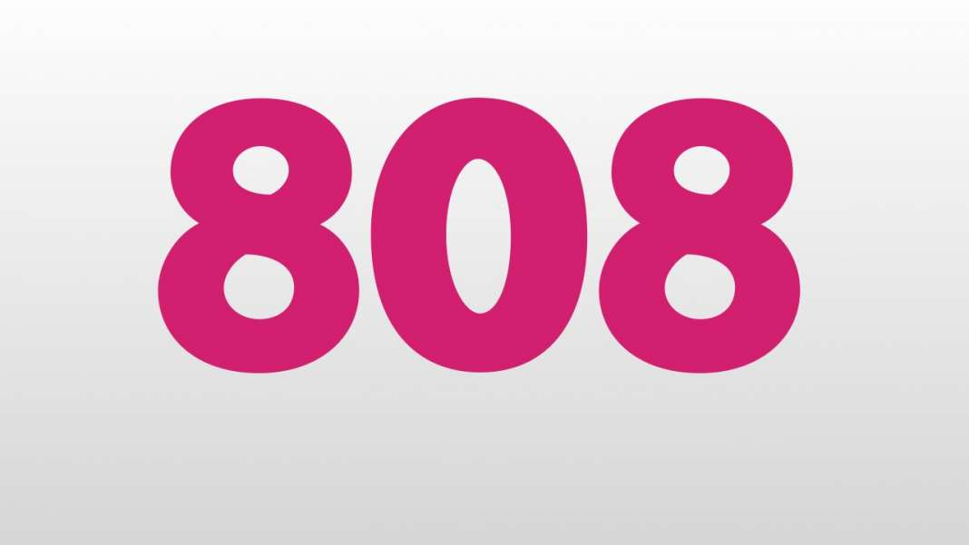 WHAT DOES 808 MEAN SPIRITUALLY - ANGEL NUMBER