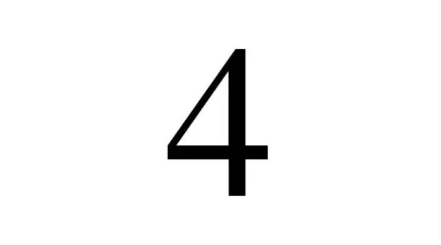 What does 4 mean spiritually - angel number