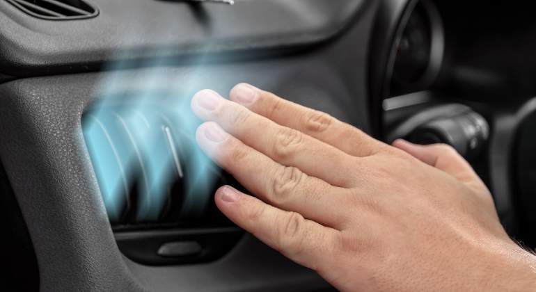 Your car heater is blowing cold air